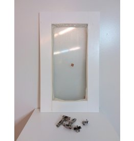 Vaughan Eurostyle Oxford - Door 18 inch x 30 inch - White matt thermofoil