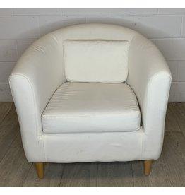 East York Small Ivory Armchair