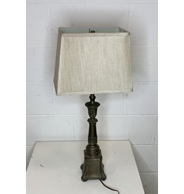 East York Table Lamp with Bronze Base