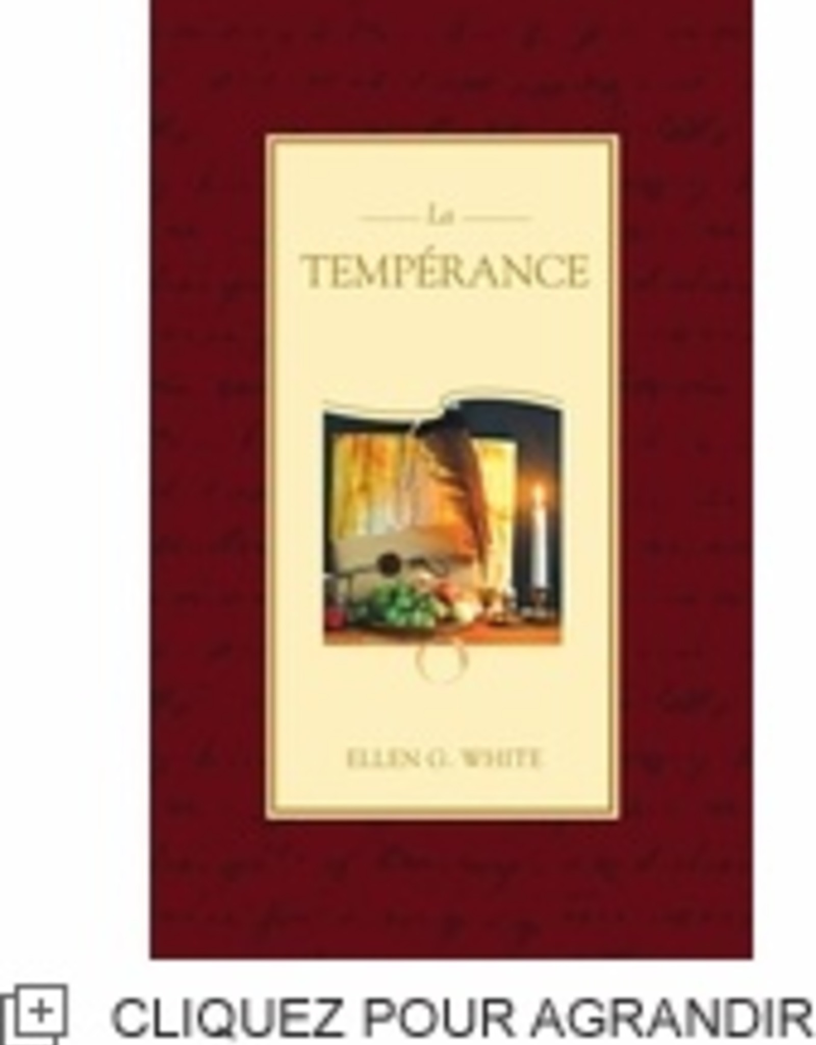 La tempérance (IADPA couverture souple)