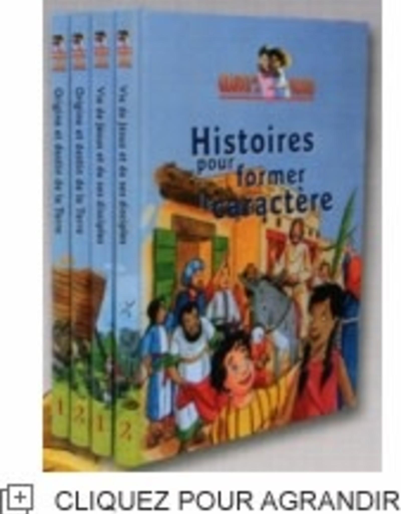 Grandir avec des valeurs Histoires pour former le caractère (set of 2)