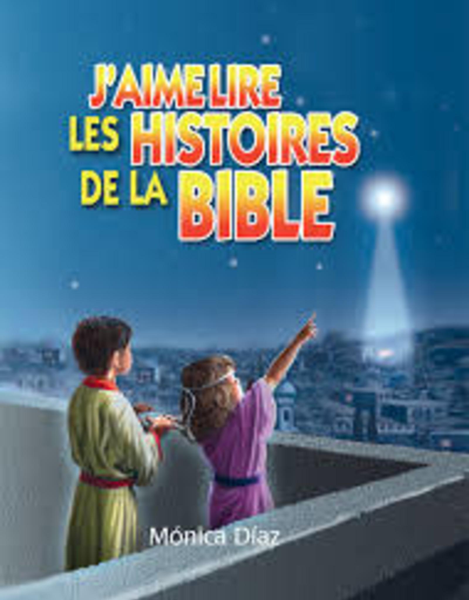 Monica Diaz J'aime lire les histoires de la Bible