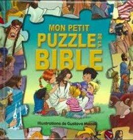 Gustavo Mazali Mon petit puzzle de la Bible - Enfants 3 et 4 ans
