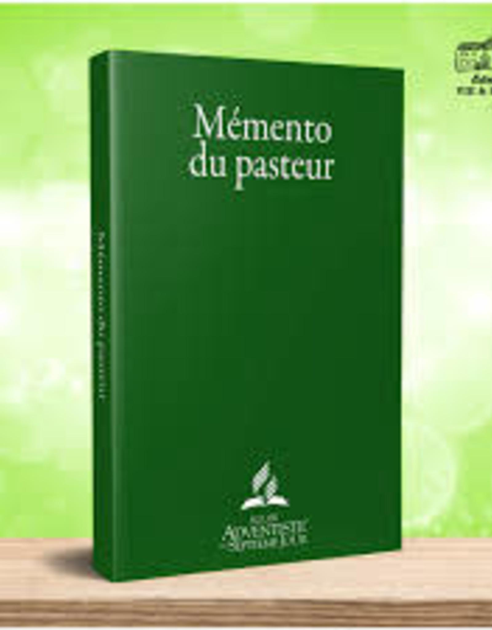 Église Adventiste du 7ème Jour Mémento du Pasteur
