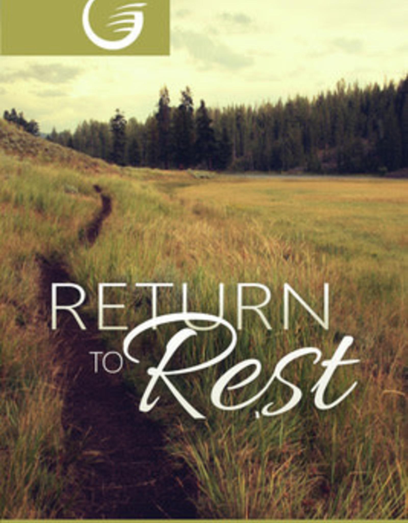 Glow Return to rest