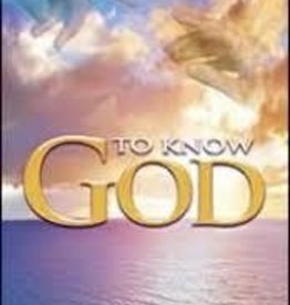 Morris Venden To know God - A 5 day plan