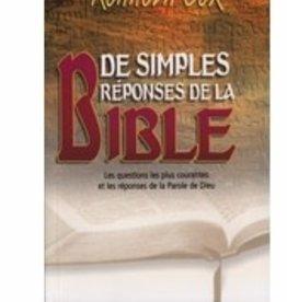 Kenneth Cox Des simples réponses de la Bible