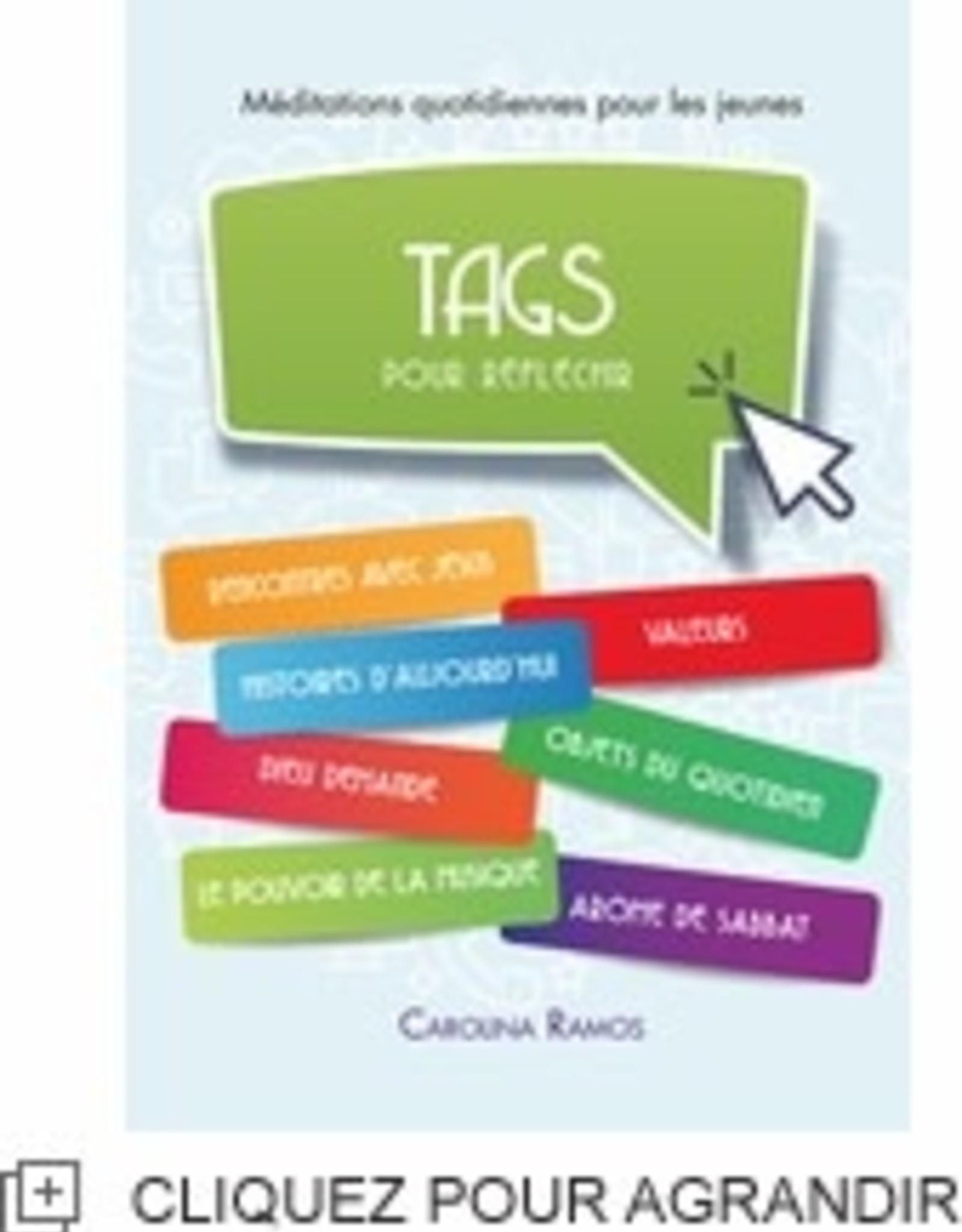 Carolina Ramos Tags pour réflechir - Jeunes