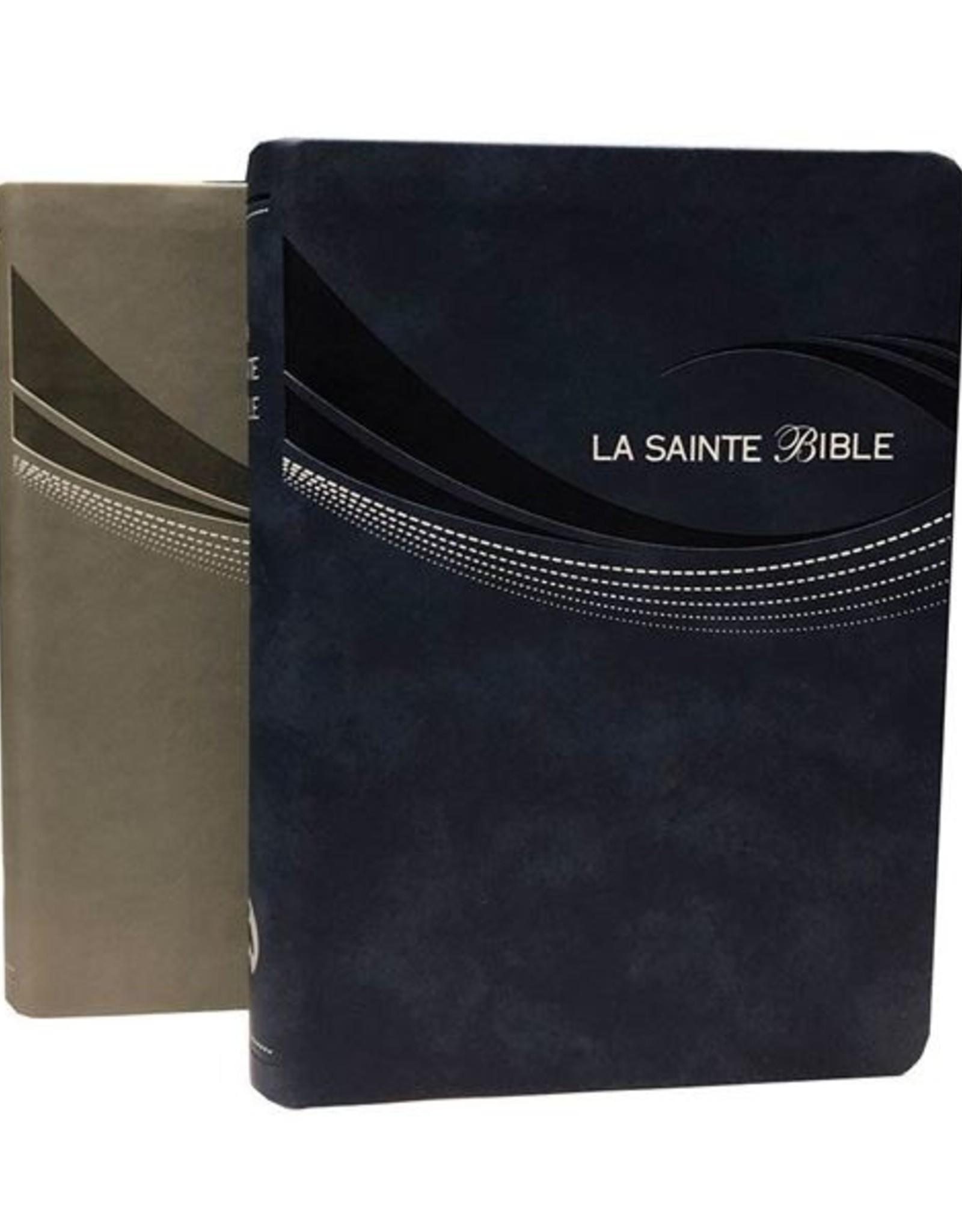 Bible Louis Second 1910, gris clair, caractère moyen
