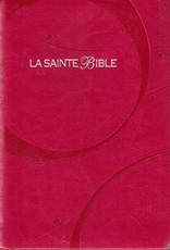 Bible Louis second 1910, petit caractère, rose