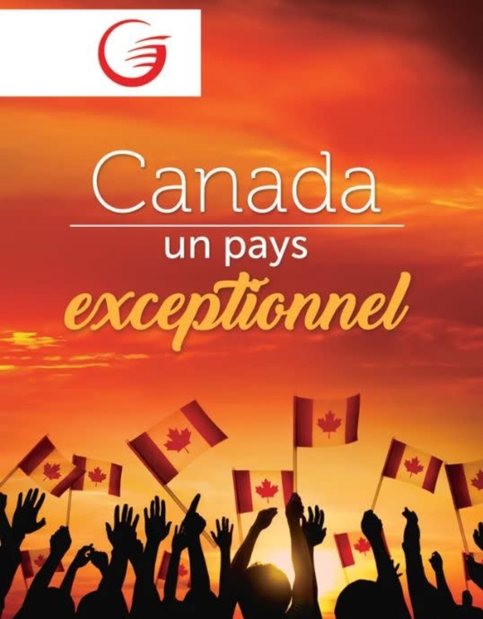 Glow Canada un pays exceptionnel