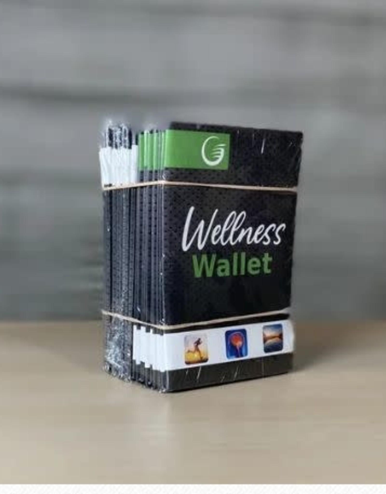 Glow Wellness Wallet (folded)