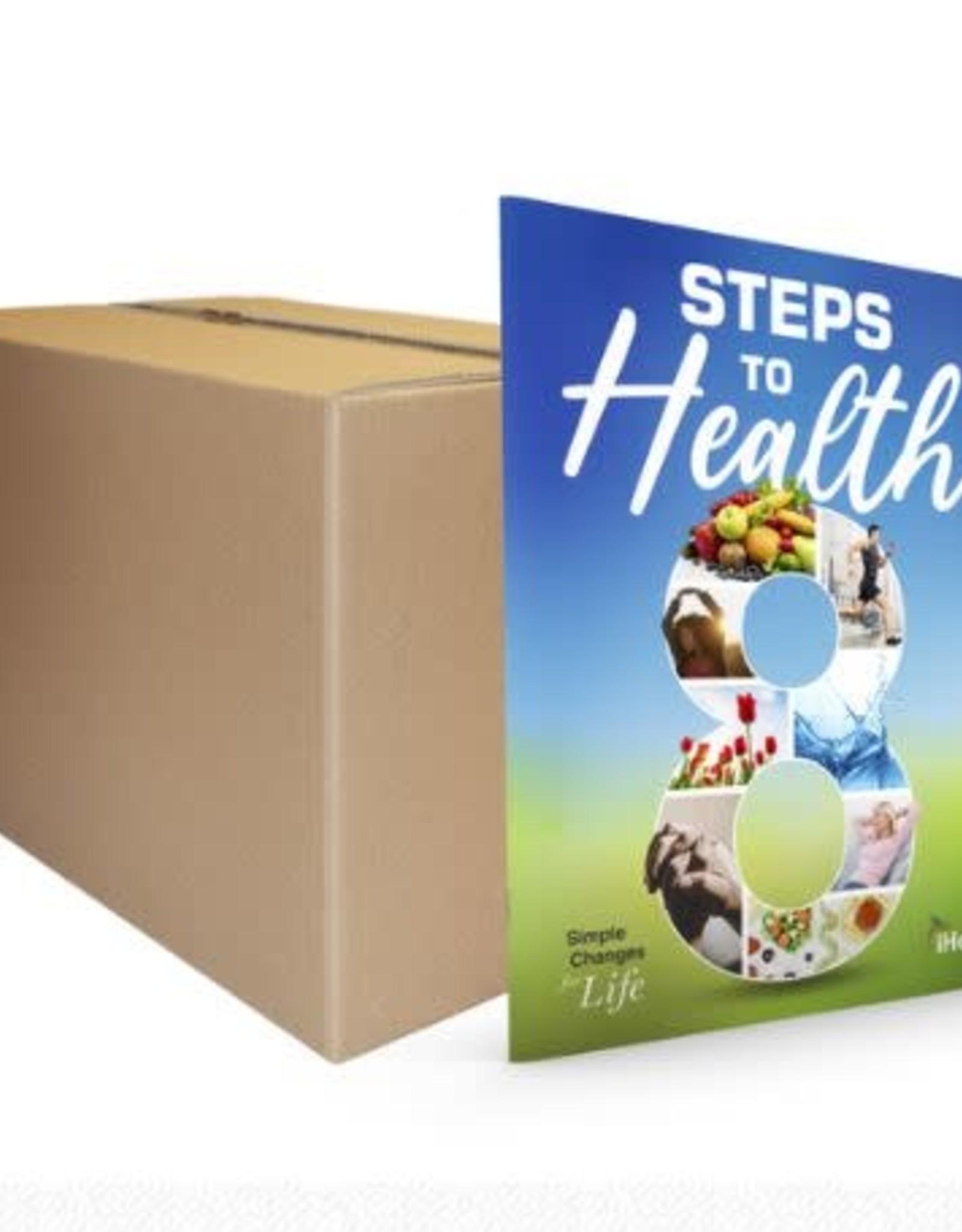 Glow Steps to Health Magazine - Box of 150 magazines