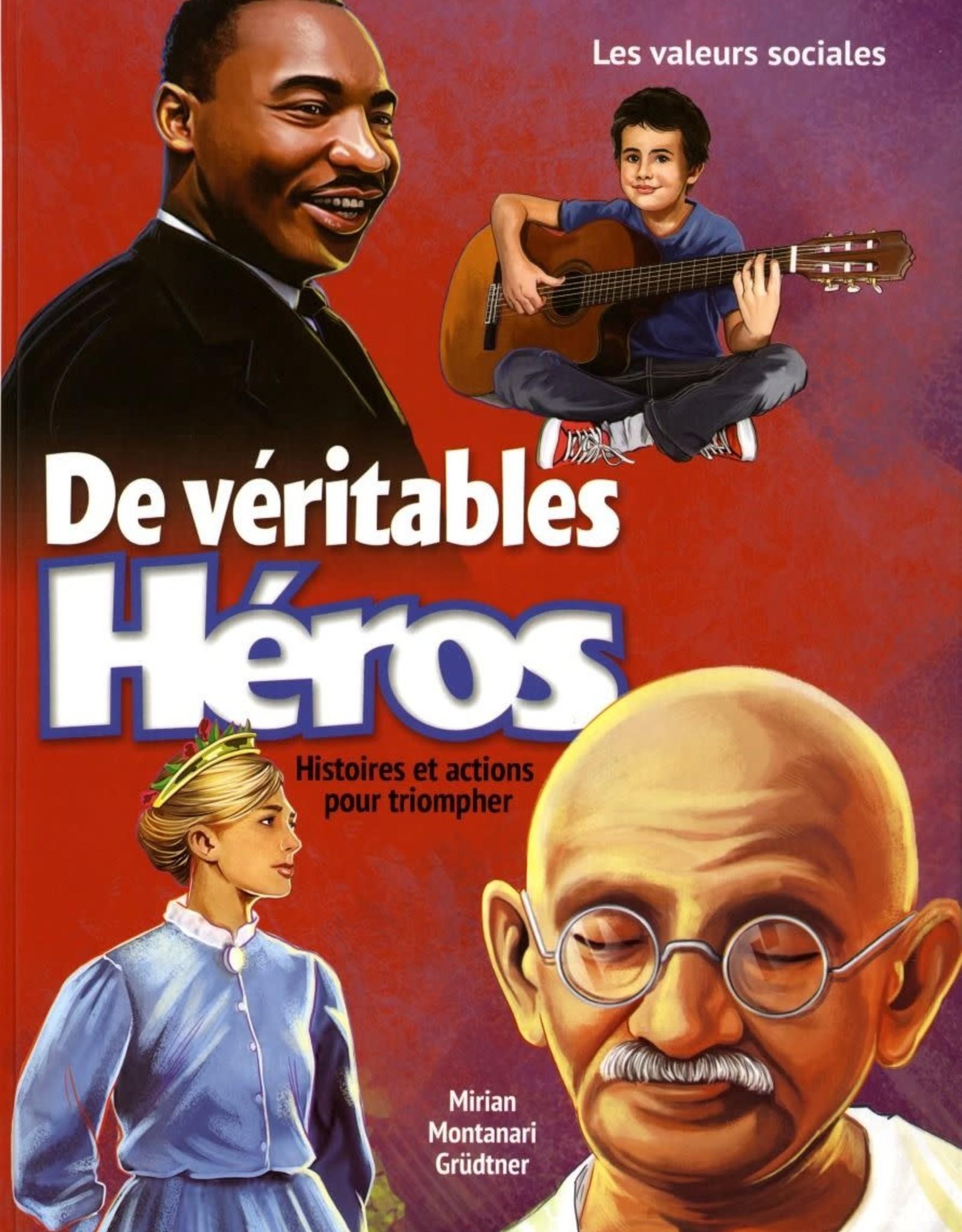 Pacific Press De véritables héros - Histoires et actions pour triompher -3 volumes