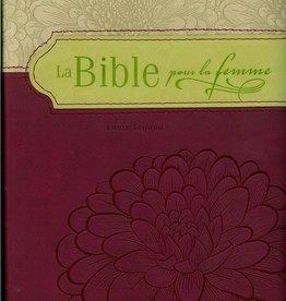 bible femme La Bible pour les femmes - bourgogne et bronze