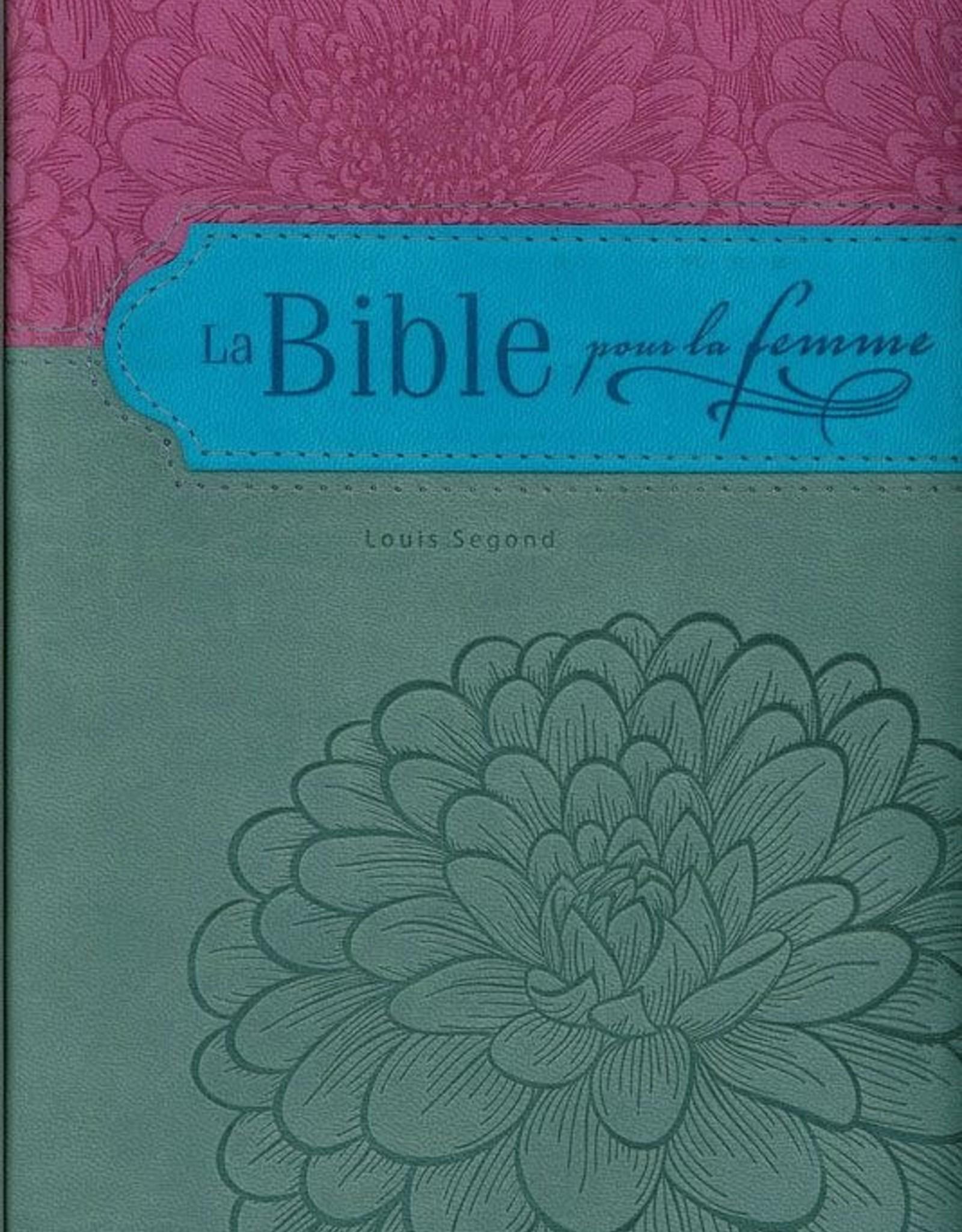 bible femme La Bible pour la femme - mauve et gris