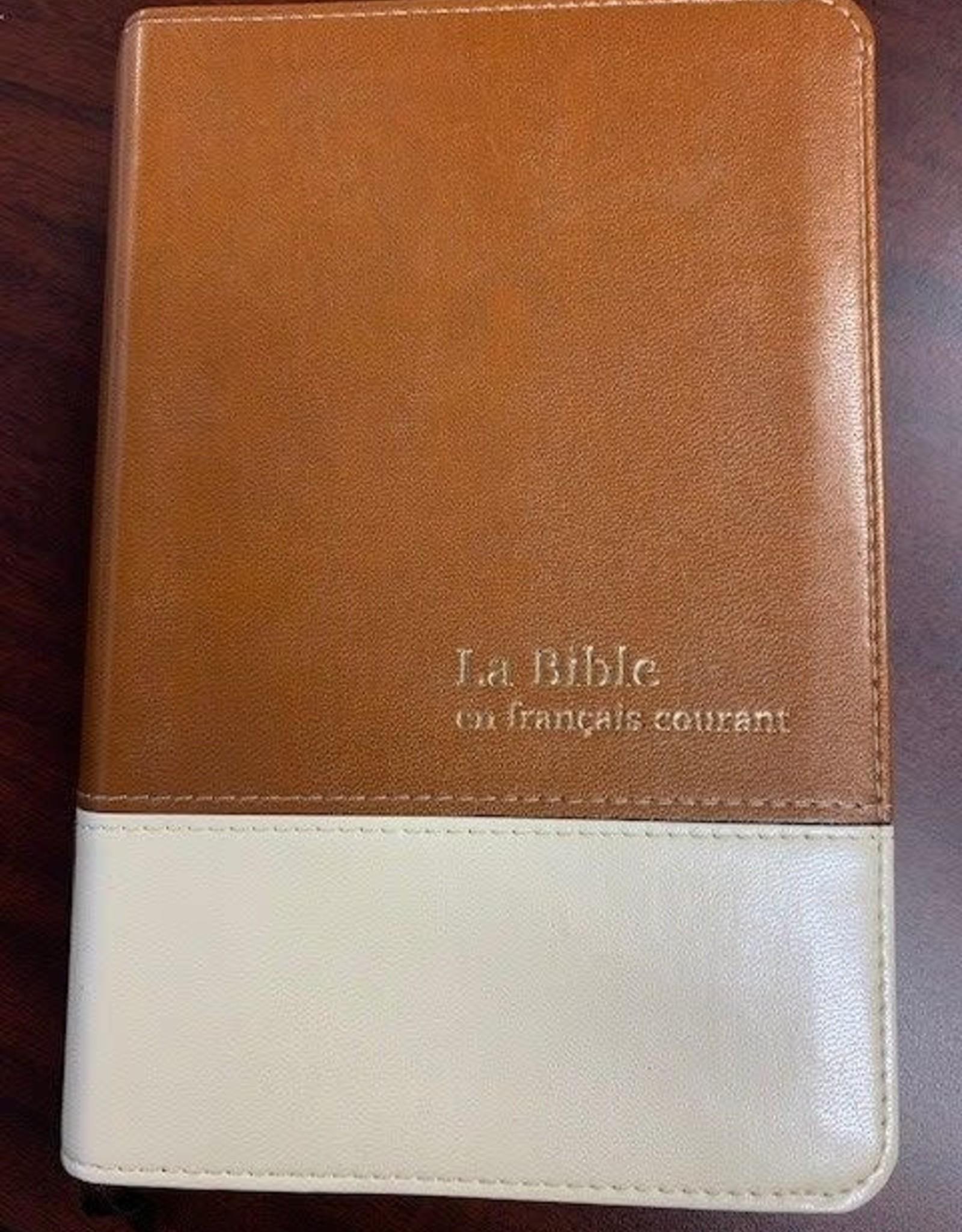 Alliance Biblique La Bible en français courant sans onglets (format moyen)