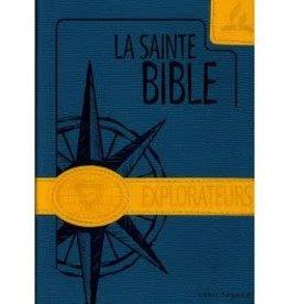 Explorateurs La Sainte Bible - Explorateurs - couleur bleu