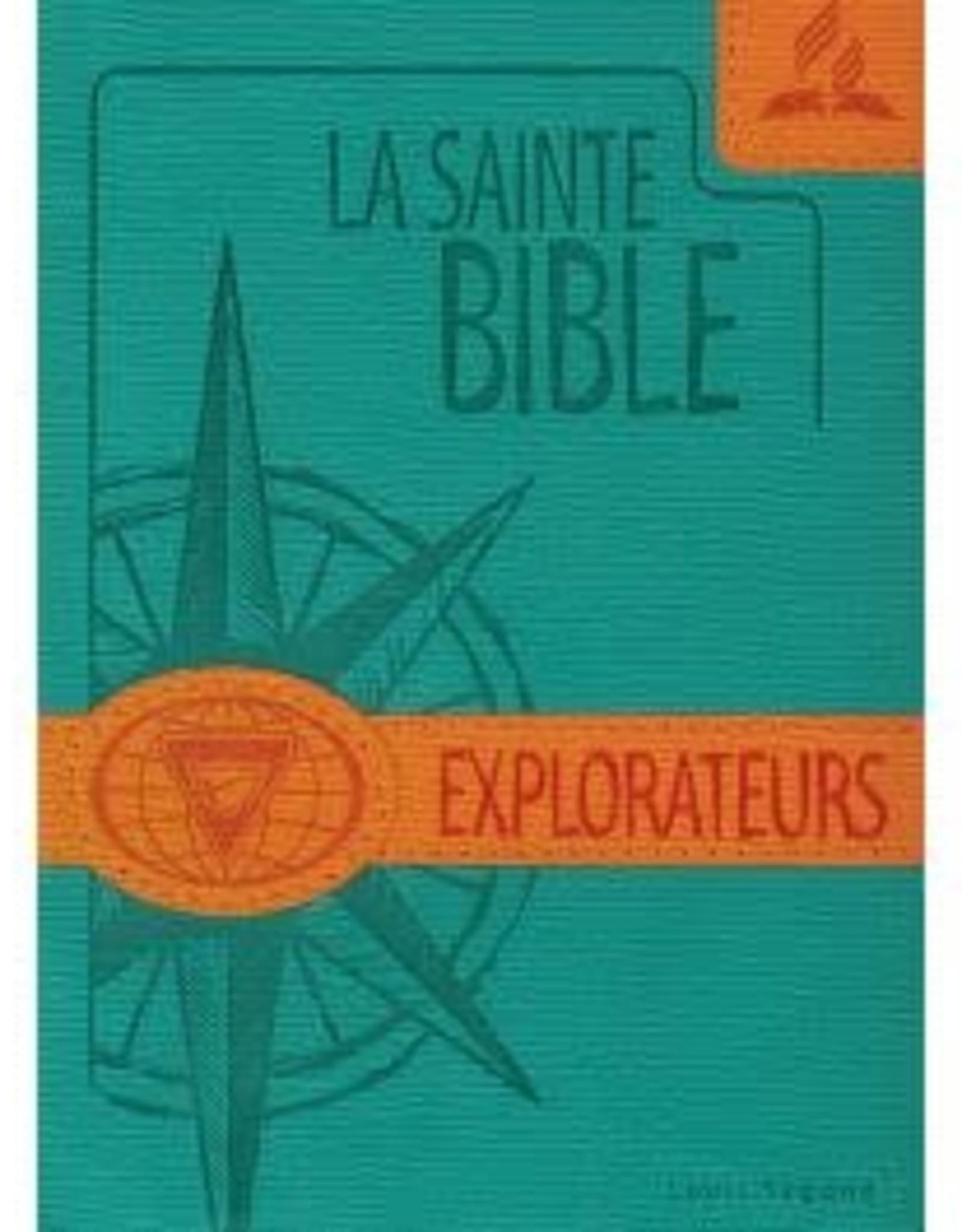 Explorateurs La Sainte Bible - Explorateurs - couleur turquoise