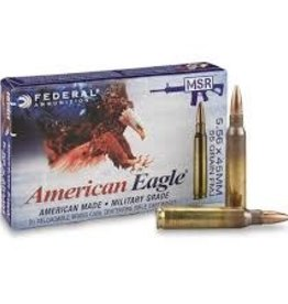 Federal Federal American Eagle 5.56x45mm NATO Ammo 55 Grain Full Metal Jacket