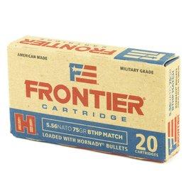 Hornady HRN CART 5.56 75gr BTHP FRONTR