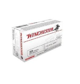 Winchester WIN CART 38 130GR FMJ 100PK