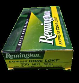 REMINGTON AMMUNITION REM 29279 R300WB1 300WBY 180 PSPCL 20/10