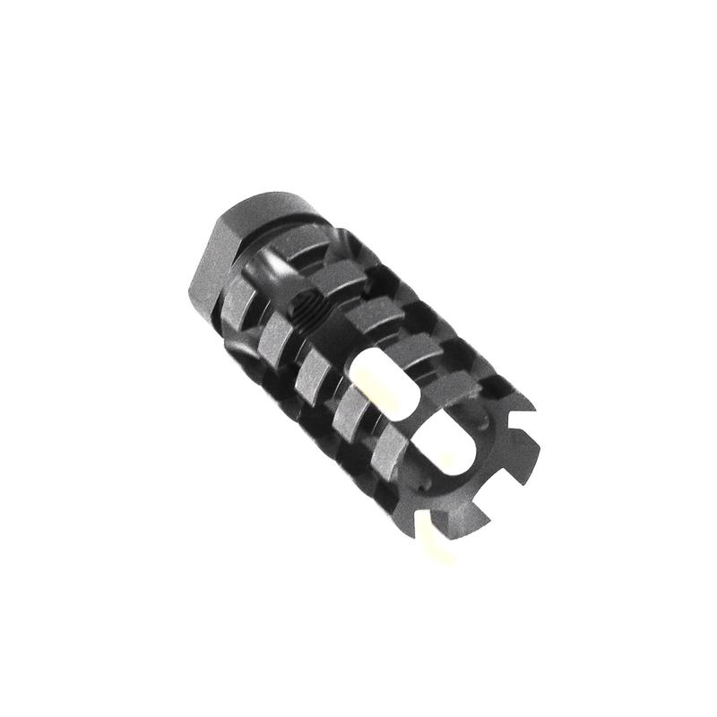 """Tiger Rock 6.5 Grendel  Pineapple Muzzle Brake 9/16""""x24"""