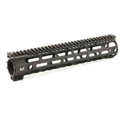 "Midwest Industries Midwest Industries .308 12"" Handguard LR-308 High Profile M-LOK Aluminum Black MI-308SS12-DHM"