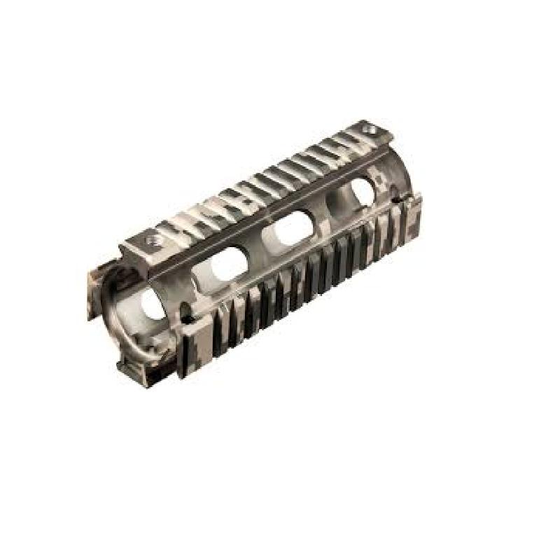 Leapers UTG PRO Model 4/15 Carbine Length Quad Rail System - ACU