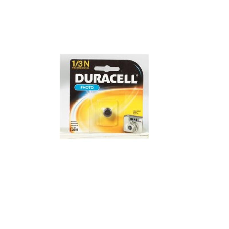 Duracell DL1/3NBBPK Battery Lithium Photo 3V 1/3N 1 Pack