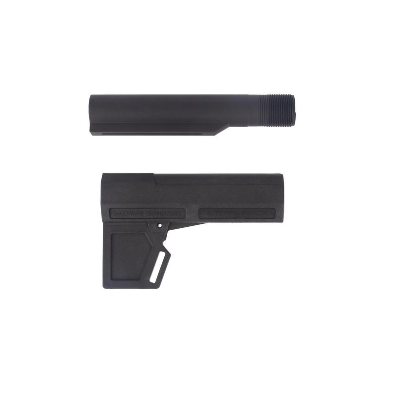 SHOCKWAVE Shockwave Blade 2.0 Pistol Stabilizer with Adjustable Buffer Tube - Black