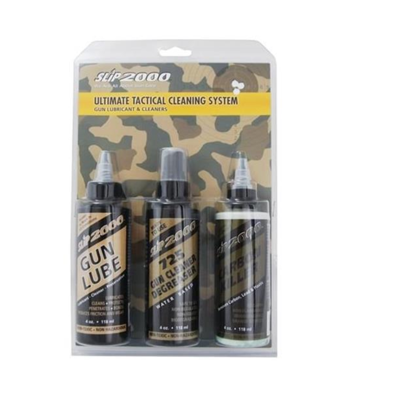 SLIP 2000 SLIP2000 ULTIMATE TACTICAL CLEANING SYSTEM  3/PK 4OZ