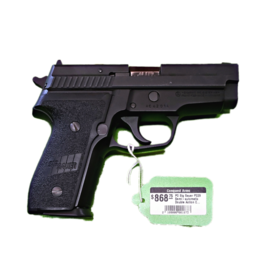 "SIG SAUER Sig Sauer P229 Semi-automatic Double Action Compact 9MM 3.9"" Alloy Black Plastic E2 Decocker Fixed Sights PO"
