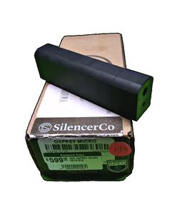 SILENCERCO SCO OSPREY MICRO 17HMR/22LR BLK