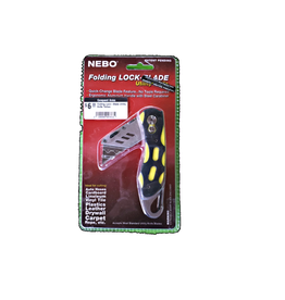Nebo Folding Lock-Blade Utility Knife Yellow