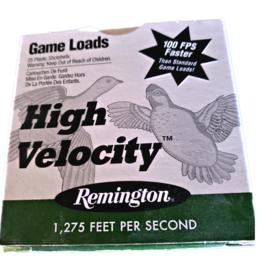 REMINGTON AMMUNITION Remington High Velocity 20ga Game Loads