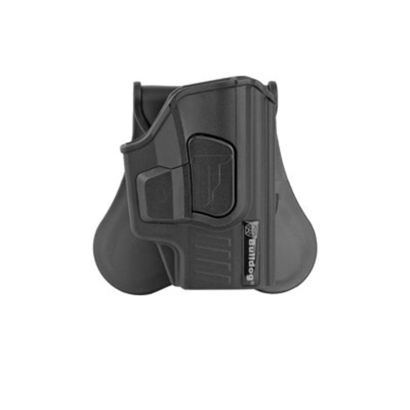 Bulldog Bulldog Cases, Rapid Release Paddle Holster, Right Hand, Fits Sig P365 Series, Black Polymer