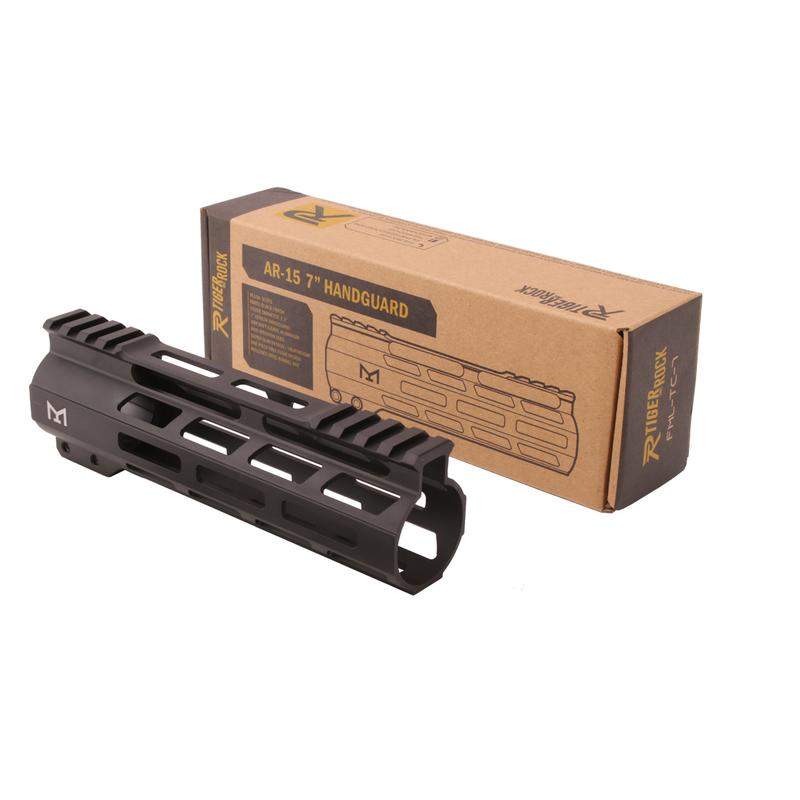 "Tiger Rock AR-15 M-Lok 7"" Super Slim Free Float Handguard"