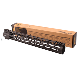 "Tiger Rock AR-15 M-Lok 15"" Super Slim Free Float Handguard"