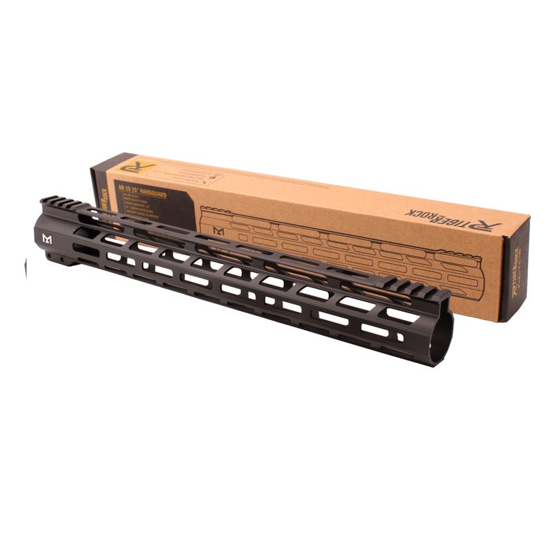 "Tiger Rock AR-15 M-Lok 15"" Super Slim Free Float Handguard"