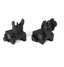 Tiger Rock Flip Up Mini Front and Rear Sight .223