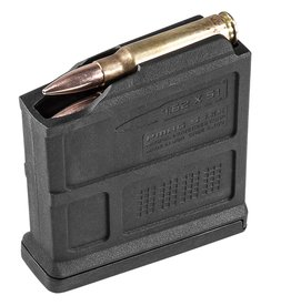 Magpul MAG549-BLK PMAG 7.62x51/308Win/7mm-08 Rem/6.5mm Crdmr/260 Rem/243 Win 5rd Black Detachable