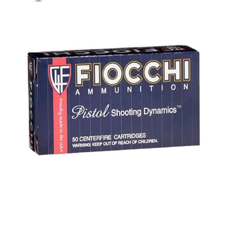 Fiocchi Ammunition Fiocchi 357SIGAP Shooting Dynamics 357 Sig 124 gr Full Metal Jacket (FMJ) 50 Bx