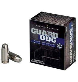 Federal Ammunition GUARD DOG 40 S&W 135GR 20RD/BX