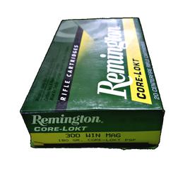 REMINGTON AMMUNITION REM 29497 R300W2 300WIN 180 PSPCL