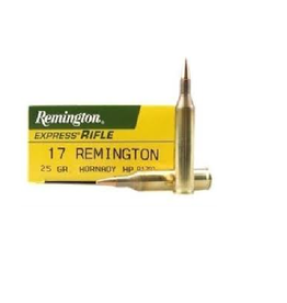 Remington REM CART 17REM 25GR HP