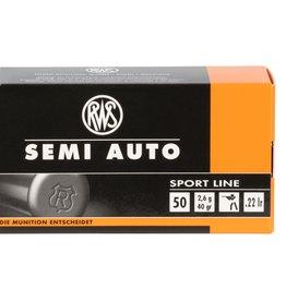 RWS/Umarex RWS/Umarex 2138601 Semi-Auto Sport 22 LR 40 gr Lead Flat Base 50 Bx