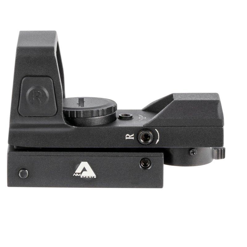 AIM SPORTS Aim Sports RT503F Reflex Full-Size 1x 33mm Dual Illuminated Red/Green 4 Pattern Black Anodized