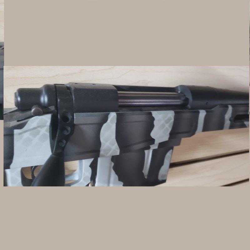 Remington Remington 700 LA, .300 Ultra Mag, Element Stock, custom Camo